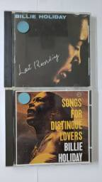 Lote 2 Cds - Billie Holiday