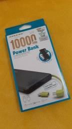 Bateria portátil Power Bank 10.000 mAh