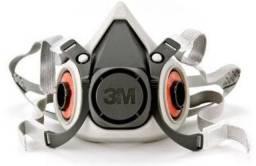 Respirador semi Facial Série 6200 Reutilizável 3M + 3 filtros para partículas N95