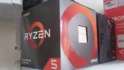 Processador gamer AMD Ryzen 5 3600XT 100-100000281BOX de 6 núcleos e 3.8GHz de frequência