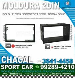 Título do anúncio: Moldura 2din para Fiesta / Ecosport / Fox / Polo / Bora / Golf