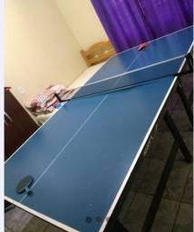 Vendo mesa de ping pong completa.