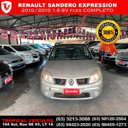 Renault Sandero Expression 1.6 8V flex 2010