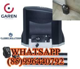 Motor pra portão Garen  549,00 instalado