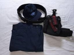 Calça e acessórios