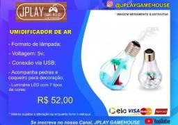 Título do anúncio: Mini umidificador lampada 5v