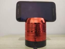 Caixa de Som WIJH - Bluetooth - Rádio - USB - Cartão SD - P2