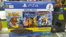 Mega Pack PS4 novo na caixa