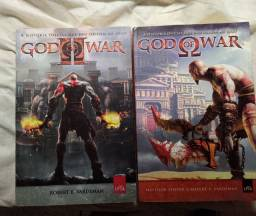 Oportunidade Única !! Livros God of War 1 e 2