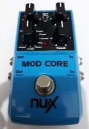 Pedal NUX Mod Core zerado - 8 modulações top