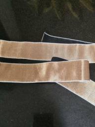 Cueca elastico dourado e prateado