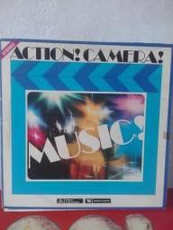 Coleção de Vinil Action Câmera Music volume 1 ao 8