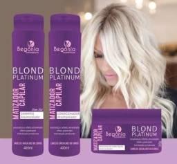 cca5400b4d Kit 24 c  Potes Matizador Blond Platinum Leave-In
