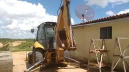 Retro escavadeira cat 416E