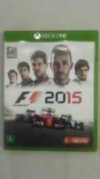 F1 2015 jogo xbox one comprar usado  Rio de Janeiro
