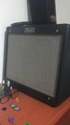 Fender Blues Jr com GB128 e válvulas JJ