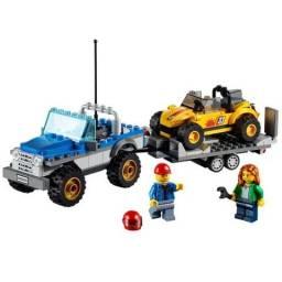 Lego City Jeep e Buggy das Dunas 60082 - 222 peças - Novo, Lacrado na caixa Aceito cartão
