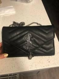 Linda bolsa luxuosa preta Nova Promoção