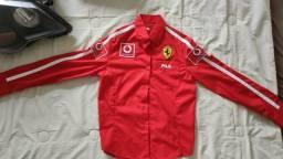 Camisa Ferrari infantil/PP