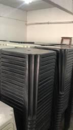 Mesa de plástica nova cor preta no atacado