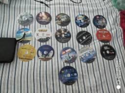 PS3 + 16 jogos e 3 controles