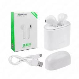Par Fone de Ouvido Bluetooth Airpods Tws 5.0 Iphone 6 7 8 Android