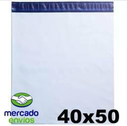 Envelope plástico segurança lacre tipo sedex 40x50