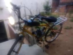 Bicicleta Motorizada Motor Dois Tempo