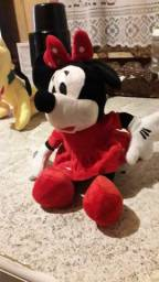 Minnie mouse 25 cm de pelúcia imperdível