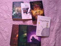 Vendo todos esses livros