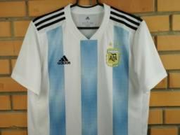 7282e5e344 Camisa de Time Seleção da Argentina 2018 Adidas Original NOVA!!! ( Somente  Tamanho