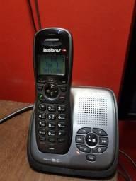 Telefone Sem Fio Com Secretaria Eletronica Intel Bras Ts6130