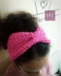 Headband ou Faixa em Crochê