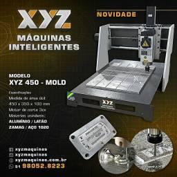 Fresadora CNC XYZ MOLD