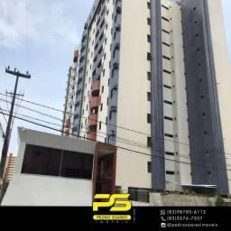 Apartamento com 3 dormitórios à venda, 120 m² por R$ 400.000 - Miramar - João Pessoa/PB