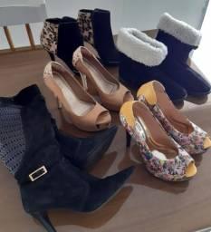 Sapatos e Botas número 35 e 36