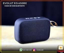 Caixa De Som Portatil Bluetooth EO-650BK t006sf10df20
