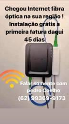 Internet ultra velocidade WI-Fi + TV full HD