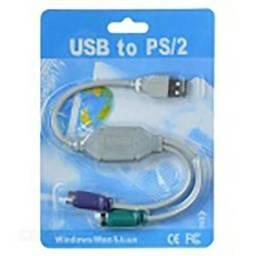 Cabo Usb To Ps2 Cable - White + Blue + Green Pronta Entrega comprar usado  Serra