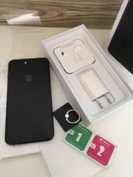 IPhone 7 Plus Black Novo + Brindes