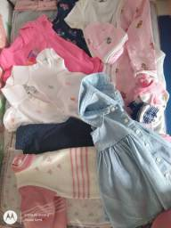 Lote roupa de menina