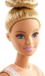Boneca Barbie Feita Para Mexer Ginasta