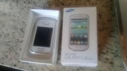 Celular Galaxy s lll mini 8GB pouquíssimo uso,