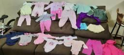 Lote de roupinhas bebê feminino - 20 peças