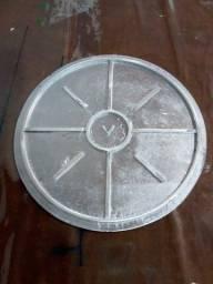 Tampa em alumínio 250 mm
