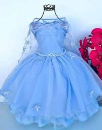 Pronta entrega Vestido frozen
