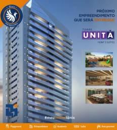 Torre Unita - alugo excelente apartamento prédio Novo- *
