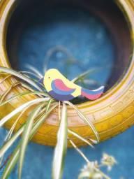 Pássaro de madeira