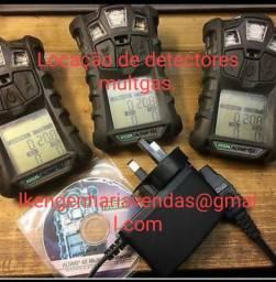 Detectores de 4 gas multgas locação