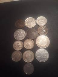 13 moedas antigas
